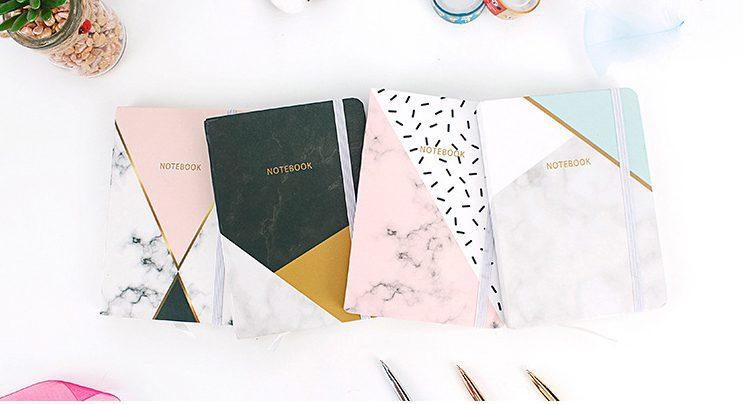 Stylish Notebook Marble